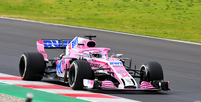 RP Force India Mercedes